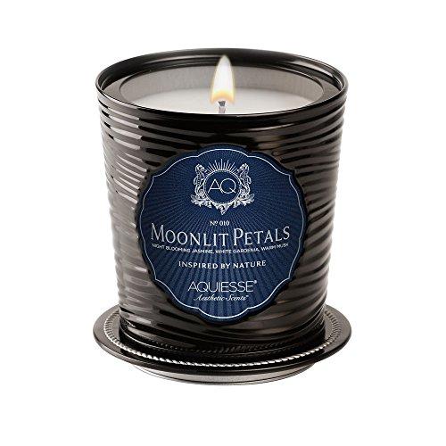 Aquiesse Moonlit Petals Luxe Tin Candle by Aquiesse