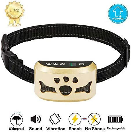 TOTIE Sensitivity Levels Dual Anti Barking Rechargeable product image
