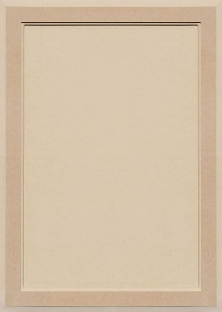 28H x 20W Unfinished MDF Square Flat Panel Cabinet Door by Kendor