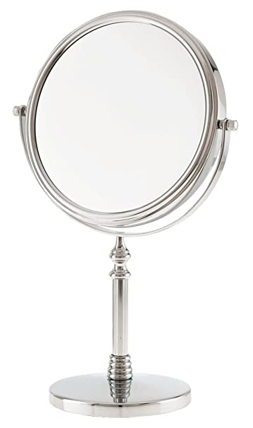 Danielle 10x Magnification Vanity Mirror  Chrome. Amazon com   Danielle 10x Magnification Vanity Mirror  Chrome