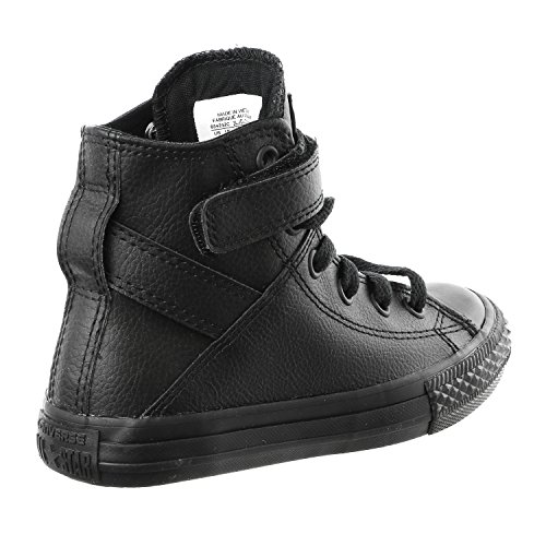Chaussure enfant Converse Chuck Taylor cuir - noir, 30