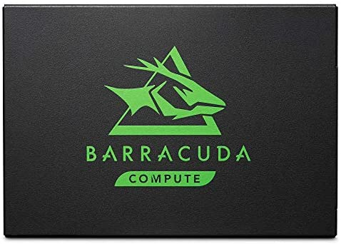 Seagate BarraCuda 120 SSD 1TB Internal Solid State Drive – 2.5 Inch SATA 6GB/s for Computer, Desktop, PC & Laptop (ZA1000CM10003)