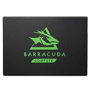 Seagate Barracuda 120 SSD 250GB Internal Solid State Drive – 2.5 Inch SATA 6GB/S for Computer Desktop PC Laptop (ZA250CM10003)