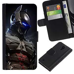 Stuss Case / Funda Carcasa PU de Cuero - Futuro Bat Superhero - Samsung Galaxy S4 IV I9500