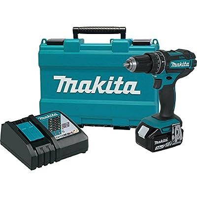 "Makita XPH102 18V LXT Lithium-Ion Cordless 1/2"" Hammer Driver-Drill Kit (3.0Ah),"