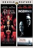 DEVILS ADVOCATE/INSOMNIA (DVD/DBFE) DEVILS ADVOCATE/INSOMNIA (DVD/DBFE)