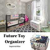 Large Diaper Caddy Organizer - Portable Nursery