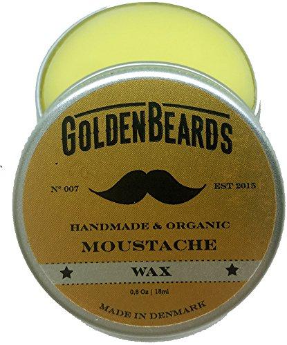 23 opinioni per Golden Beards, cera organica per baffi, 100% naturale, da 15ml, con olio di
