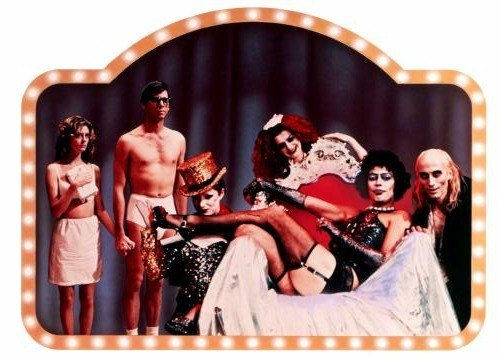 Rocky Horror Picture Show Movie Poster Cast