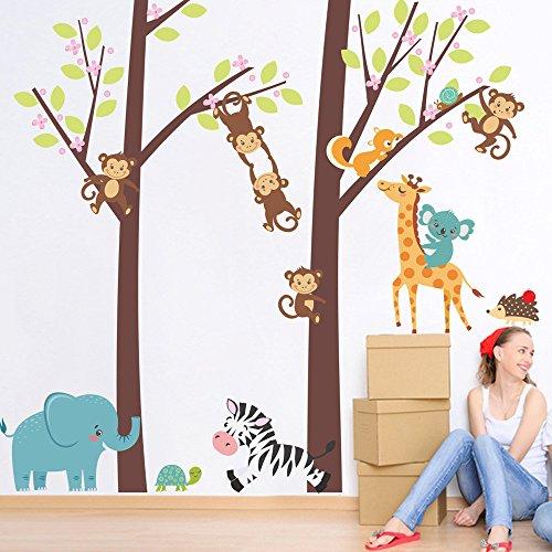 The Jungle Wall Sticker (Multicolor) - 6