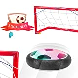inside football - Kids Soccer Goal Toys Football Soccer Indoor Set with Powerful LED Lights and 2 Goal Nets for boys and girls