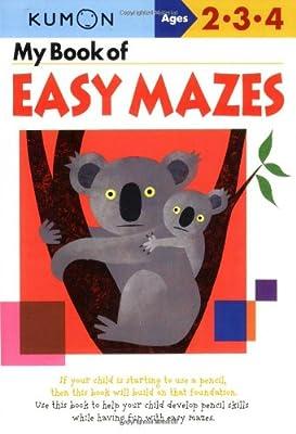 My Book Of Easy Mazes Kumon Workbooks from Kumon Publishing North America
