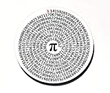 Value of Pi Neoprene Round Mouse Pad