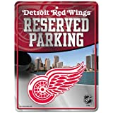 NHL Hi-Res Metal Parking Sign