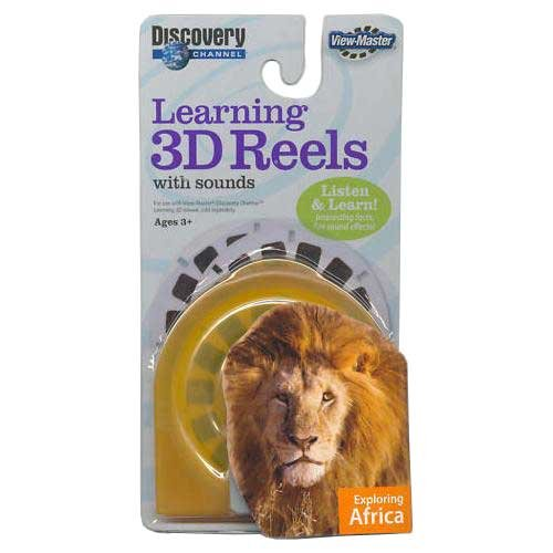 Fisher Price Learning 3D Reels with sounds: Exploring Africa