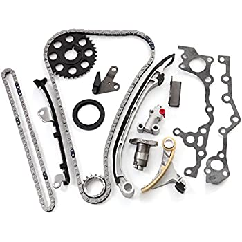 Amazon Com Scitoo Timing Chain Kit Vvt I Gear Fit 00 08 Toyota
