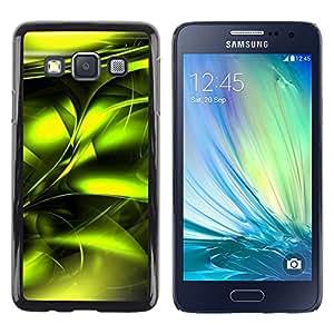iKiki Tech / Estuche rígido - Poison Vibrant Metallic Black - Samsung Galaxy A3 SM-A300