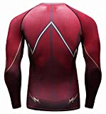 Red Plume Men's Compression Sports Shirt Cool