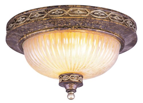 Livex Lighting 8543-64 Seville Ceiling Mount Fixture (Seville Ceiling Lighting)