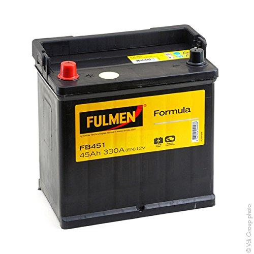 Fulmen s - FB451 ; EB451 Batterie Batterie voiture FB451 12V 45Ah 330A