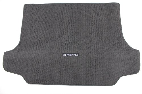 Nissan Genuine Accessories 999E3-KR000CH Carpeted Cargo Mat Carpeted Cargo Area Mat