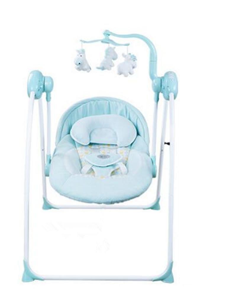 NWYJR Kleinkind Rocker Neugeborene geeignet Vibration Elektrischer Multifunktions Appease Musik-Baby-Schaukel