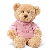 Gund My T-Shirt Stuffed Teddy Bear, Pink from Gund