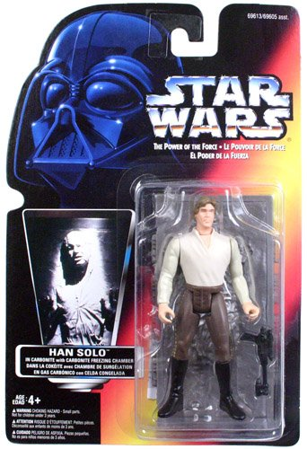 Han solo in carbonite action figure