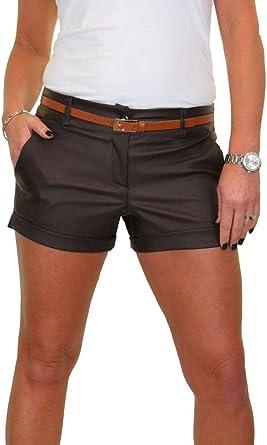 Sheen Cotton Sateen Hot Pants Shorts FREE Belt Mint Green NEW 8-16