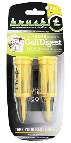 Brush T Pro Flexible Golf Tees / XL (3.125)