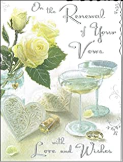 On The Renewal Of Your Wedding Day Vows Greeting Card