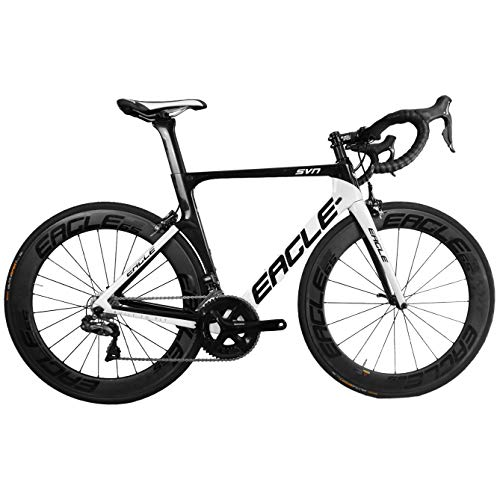 Eagle Carbon Aero Road Bike - US Company Like Trek, Specialized, Cannondale, and Giant Bicycles (56, 2020 Z1 105)