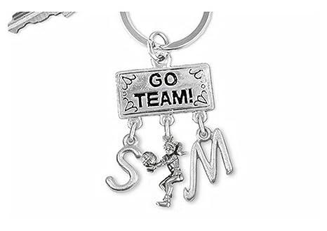 Go team. Llavero con diseño de
