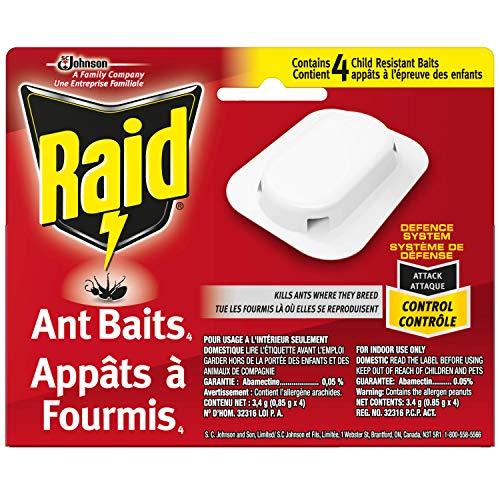 Raid ant Baits 4 count
