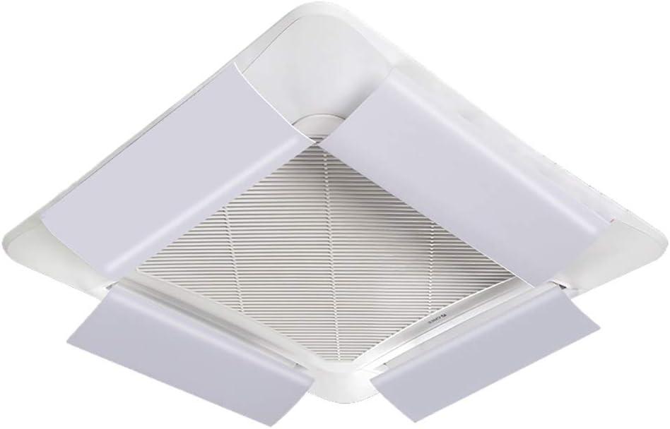 Aire Acondicionado Central Deflector de Viento Soplete Anti Directo en el Techo Salida de la máquina Deflector Universal Deflector Hood (4 Pack) (Size : 94cm): Amazon.es: Hogar