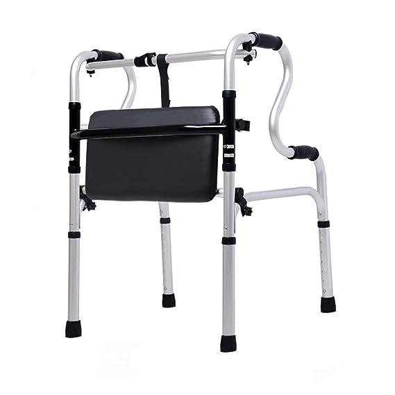 LHNLY-Andadores Estándares Andador Plegable bariátrico de ...