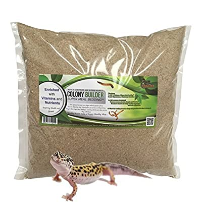 Colony Builder Super Meal Bedding for Live Superworms and Mealworms, 3 lb.