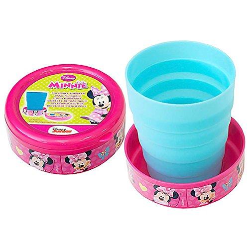 Joy Toy 756506 Minnie Taza Plegable melamina, Multicolor 210 ML Multicolor 210ML