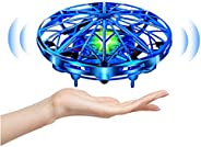 UTTORA Mini Drone for Kids or Adults Flying Toy Hand Operated UFO Helicopter RC Toy for Boys and Girls with 36