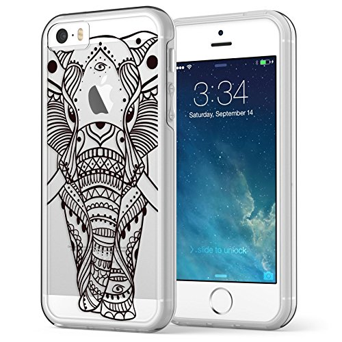 iphone-se-5s-5-case-true-color-ethnic-elephant-printed-on-clear-transparent-hybrid-cover-hard-soft-s