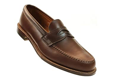 Men's 17831F Handsewn Penny Loafer with Unlined Vamp - Brown Chromexcel- Size 9