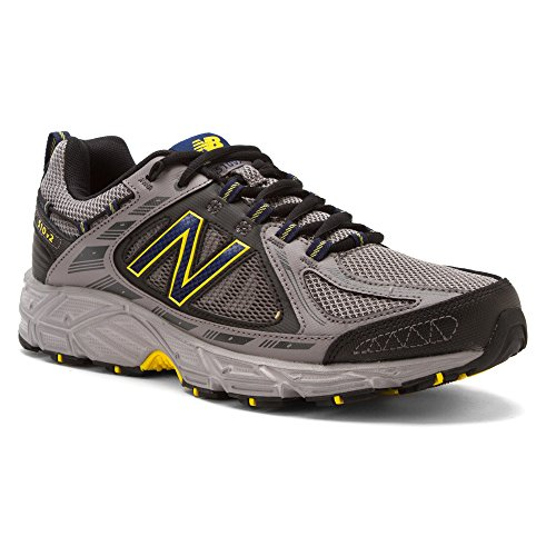 37dfd84f1fc22 New Balance Men's Mt510 Trail Trail Running Shoe,Grey/Yellow,9.5 4E US -  Buy Online in UAE. | Shoes Products in the UAE - See Prices, Reviews and  Free ...
