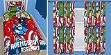 Marvel Avengers Battle Single Duvet Bedding Set & Matching 66' x 54' Curtains