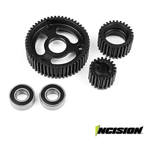2 Speed Transmission Set - Transmission Gear Set: SCX10