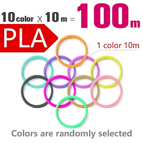 Wang-nuan-jun, Pluma de impresión 3D pla 1.75mm filamento abs 20 ...