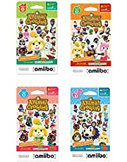 $36 » Nintendo Animal Crossing amiibo Cards Series 1, 2, 3, 4 for Nintendo Wii U and 3DS, 1-Pack (6 Cards/Pack) (Bundle) Includes 24 Cards Total