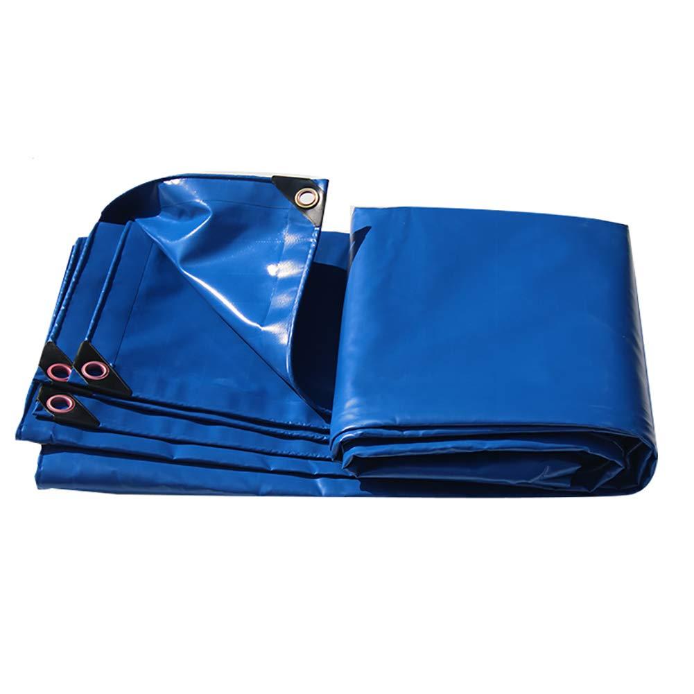 Plane Leichte Soft Wearable Regendicht Tuch Auto Leinwand Wasserdichte Sonnencreme Regen Leinwand LKW-Abdeckung Tuch (Blau)
