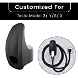 TAPTES Charging Cable Cord Organizer for Motors Wall Mount Connector Cable Holder Tesla Accessories Bracket Charger…