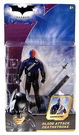 Dark Bat Knight Attack (Batman Dark Knight Movie Action Figure Blade Attack Deathstroke)