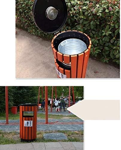 BBXXZ 屋外のゴミ箱、屋外ゴミ箱屋外のゴミ箱廃棄物リサイクル・ビン、2色、14.9 * 32.2in (Color : B)